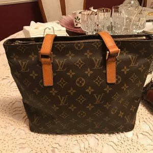 Authentic Louis Vuitton Cabas Piano PM